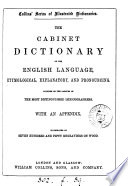 The Cabinet Dictionary Of The English Language : ...