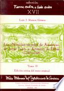 """Edición anotada del texto original de las """"Noticias secretas de América,"""" de Jorge Juan y Antonio de Ulloa"""