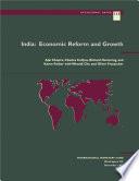 India: Economic Reform and Growth
