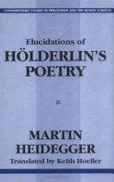 Elucidations of Hölderlin's Poetry