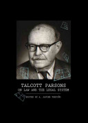 Talcott Parsons on Law and the Legal System