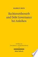 Rechtswettbewerb und Debt Governance bei Anleihen