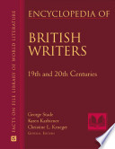 Encyclopedia of British Writers  19th and 20th Centuries