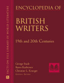 Encyclopedia of British Writers, 19th and 20th Centuries