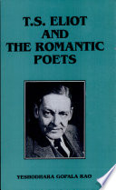 T S  Eliot and the Romantic Poets