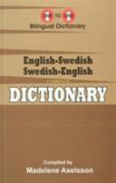 English Swedish   Swedish English One to One Dictionary  exam suitable