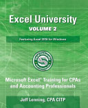Excel University   Featuring Excel 2016 for Windows