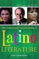 The Greenwood Encyclopedia Of Latino Literature Q Z
