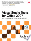 Visual Studio Tools for Office 2007