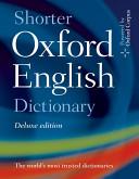 Shorter Oxford English Dictionary Deluxe Edition