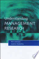 Understanding Management Research