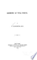 Geometry Of Vital Forces book