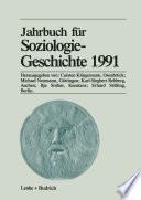Jahrbuch für Soziologiegeschichte 1991