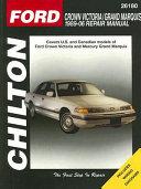 Chilton S Ford Crown Victoria 1989 06 Repair Manual
