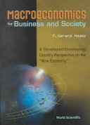 Macroeconomics for Business and Society