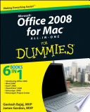 Office 2008 for Mac All in One For Dummies