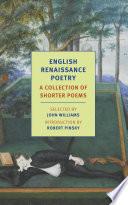 English Renaissance Poetry