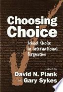 Choosing Choice