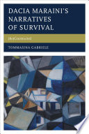Dacia Maraini   s Narratives of Survival