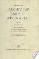 Reihentechnik und musikalische Gestalt bei Arnold Schönberg