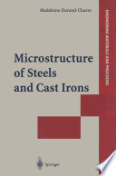 Microstructure of Steels and Cast Irons
