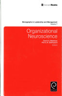 Organizational Neuroscience