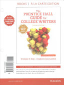 The Prentice Hall Guide for College Writers  MLA Update  Books a la Carte Edition