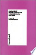 Mutamenti nella geografia dell economia italiana