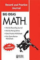 Big Ideas Math Record And Practice Journal Red