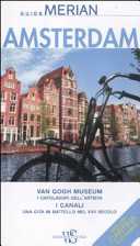 Copertina Libro Amsterdam. Con cartina
