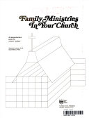 Family Ministries in Your Church