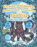 Anti Stress Marine Adult Colouring Book