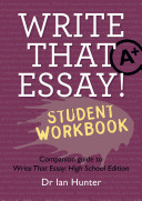 Write That Essay  Student Workbook