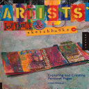 Artists  Journals and Sketchbooks