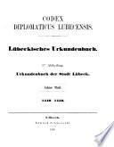 Codex diplomaticus Lubecensis