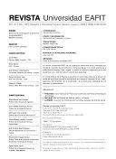 Revista Universidad EAFIT