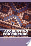 Accounting for Culture Free download PDF and Read online