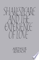 Shakespeare and Experience of Love