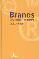Brands: Law, Practice and Precedents