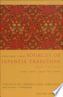 Sources of Japanese Tradition  Abridged