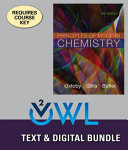 Principles of Modern Chemistry   Lms Integrated for Owlv2 With Mindtap Reader  4 term Access