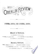 The Oberlin Review