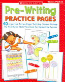 Pre Writing Practice Pages