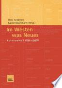 Im Westen was Neues