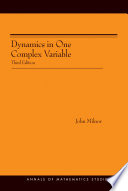 Dynamics in One Complex Variable. (AM-160)