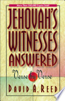 Jehovah S Witnesses Answered Verse By Verse