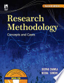Research Methodology Concepts and Cases