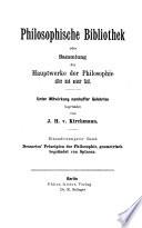 René Descartes' Prinzipien der Philosophie