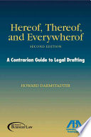 Hereof  Thereof  and Everywhereof