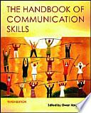 The Handbook of Communication Skills